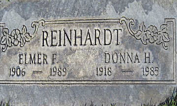 REINHARDT, ELMER F - Mohave County, Arizona | ELMER F REINHARDT - Arizona Gravestone Photos