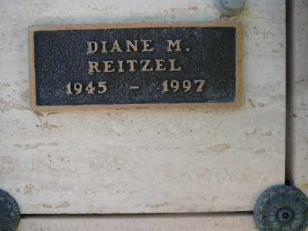 REITZEL, DIANE M - Mohave County, Arizona | DIANE M REITZEL - Arizona Gravestone Photos