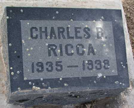 RICCA, CHARLES B. - Mohave County, Arizona | CHARLES B. RICCA - Arizona Gravestone Photos