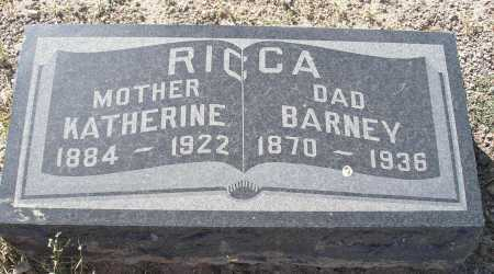 RICCA, BARNEY - Mohave County, Arizona | BARNEY RICCA - Arizona Gravestone Photos