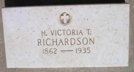 TARTS RICHARDSON, HELEN VICTORIA - Mohave County, Arizona | HELEN VICTORIA TARTS RICHARDSON - Arizona Gravestone Photos