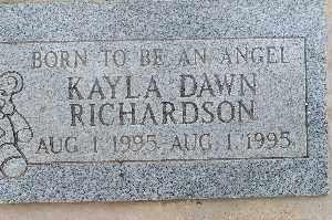 RICHARDSON, KAYLA DAWN - Mohave County, Arizona | KAYLA DAWN RICHARDSON - Arizona Gravestone Photos