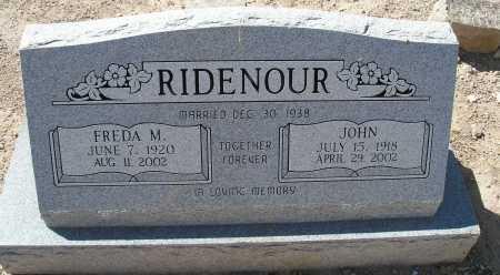 RIDENOUR, JOHN - Mohave County, Arizona | JOHN RIDENOUR - Arizona Gravestone Photos