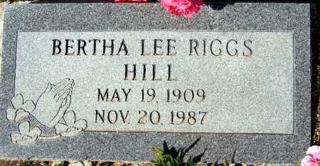 RIGGS, BERTHA LEE - Mohave County, Arizona | BERTHA LEE RIGGS - Arizona Gravestone Photos