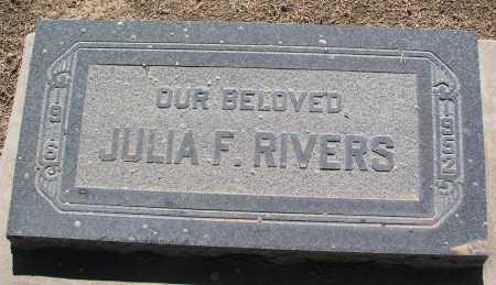 RIVERS, JULIA F. - Mohave County, Arizona | JULIA F. RIVERS - Arizona Gravestone Photos