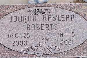 ROBERTS, JOURNIE KAYLEAN - Mohave County, Arizona | JOURNIE KAYLEAN ROBERTS - Arizona Gravestone Photos