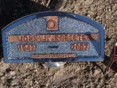 ROBERTS, JOHN J - Mohave County, Arizona | JOHN J ROBERTS - Arizona Gravestone Photos