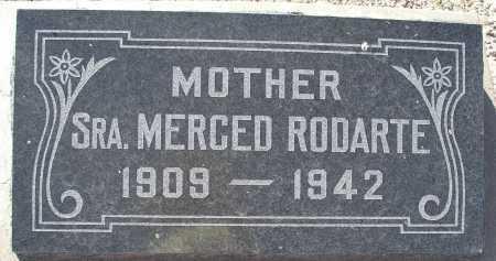 RODARTE, SRA. MERCED - Mohave County, Arizona   SRA. MERCED RODARTE - Arizona Gravestone Photos