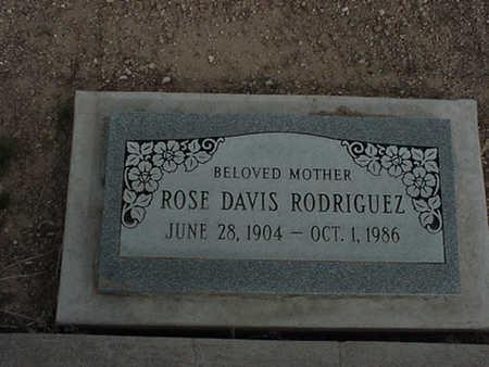 RODRIGUEZ, ROSE - Mohave County, Arizona | ROSE RODRIGUEZ - Arizona Gravestone Photos