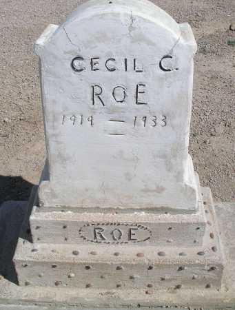 ROE, CECIL C. - Mohave County, Arizona | CECIL C. ROE - Arizona Gravestone Photos