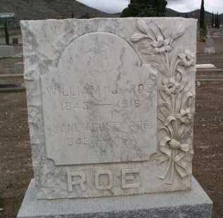 ROE, WILLIAM J. - Mohave County, Arizona | WILLIAM J. ROE - Arizona Gravestone Photos