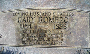 ROMERO, GARY - Mohave County, Arizona | GARY ROMERO - Arizona Gravestone Photos