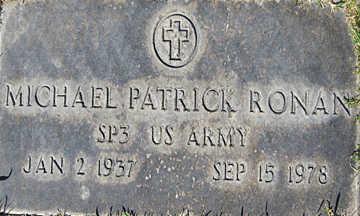 RONAN, MICHAEL PATRICK - Mohave County, Arizona | MICHAEL PATRICK RONAN - Arizona Gravestone Photos