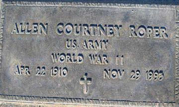 ROPER, ALLEN COURTNEY - Mohave County, Arizona | ALLEN COURTNEY ROPER - Arizona Gravestone Photos