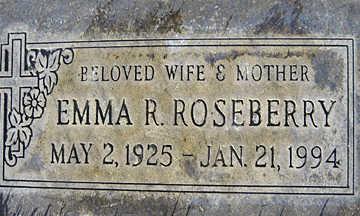 ROSEBERRY, EMMA R - Mohave County, Arizona | EMMA R ROSEBERRY - Arizona Gravestone Photos