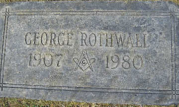 ROTHWALL, GEORGE - Mohave County, Arizona | GEORGE ROTHWALL - Arizona Gravestone Photos