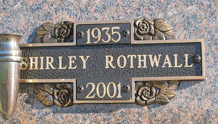 ROTHWALL, SHIRLEY - Mohave County, Arizona | SHIRLEY ROTHWALL - Arizona Gravestone Photos
