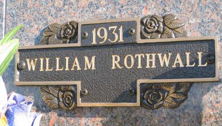 ROTHWALL, WILLIAM - Mohave County, Arizona   WILLIAM ROTHWALL - Arizona Gravestone Photos
