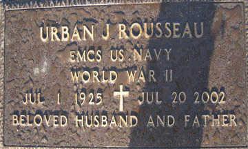 ROUSSEAU, URBAN J - Mohave County, Arizona   URBAN J ROUSSEAU - Arizona Gravestone Photos