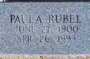 RUBEL, PAULA - Mohave County, Arizona | PAULA RUBEL - Arizona Gravestone Photos