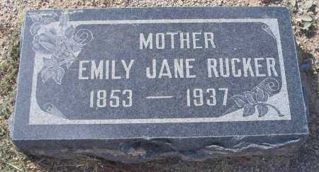 RUCKER, EMILY JANE - Mohave County, Arizona | EMILY JANE RUCKER - Arizona Gravestone Photos