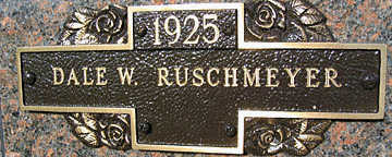RUSCHMEYER, DALE W - Mohave County, Arizona | DALE W RUSCHMEYER - Arizona Gravestone Photos