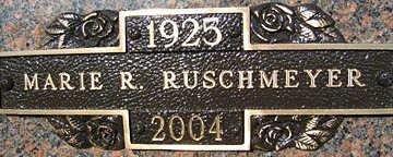 RUSCHMEYER, MARIE R - Mohave County, Arizona | MARIE R RUSCHMEYER - Arizona Gravestone Photos