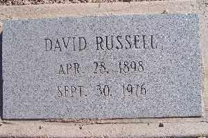 RUSSELL, DAVID - Mohave County, Arizona | DAVID RUSSELL - Arizona Gravestone Photos