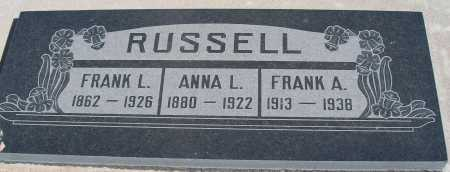 RUSSELL, ANNA L - Mohave County, Arizona | ANNA L RUSSELL - Arizona Gravestone Photos