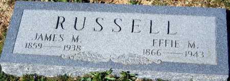 RUSSELL, EFFIE M - Mohave County, Arizona   EFFIE M RUSSELL - Arizona Gravestone Photos