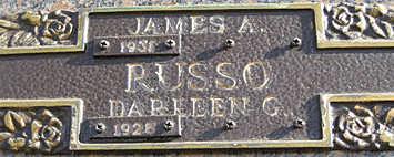 RUSSO, JAMES A - Mohave County, Arizona | JAMES A RUSSO - Arizona Gravestone Photos