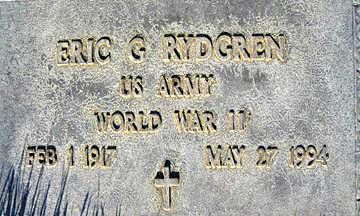 RYDGREN, ERIC G. - Mohave County, Arizona | ERIC G. RYDGREN - Arizona Gravestone Photos