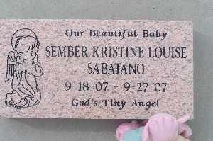 SABATANO, SEMBER KRISTINE LOUISE - Mohave County, Arizona   SEMBER KRISTINE LOUISE SABATANO - Arizona Gravestone Photos