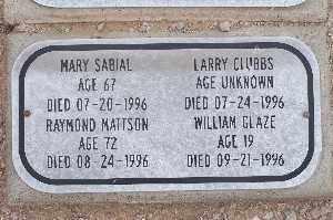 SABIAL, MARY - Mohave County, Arizona | MARY SABIAL - Arizona Gravestone Photos