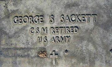 SACKETT, GEORGE S - Mohave County, Arizona | GEORGE S SACKETT - Arizona Gravestone Photos