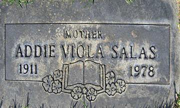 SALAS, ADDIE VIOLA - Mohave County, Arizona | ADDIE VIOLA SALAS - Arizona Gravestone Photos