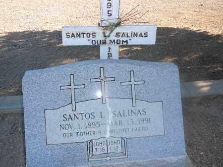 SALINAS, SANTOS L - Mohave County, Arizona   SANTOS L SALINAS - Arizona Gravestone Photos