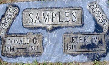 SAMPLES, DONALD C - Mohave County, Arizona | DONALD C SAMPLES - Arizona Gravestone Photos