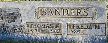 SANDERS, FREDA M - Mohave County, Arizona | FREDA M SANDERS - Arizona Gravestone Photos