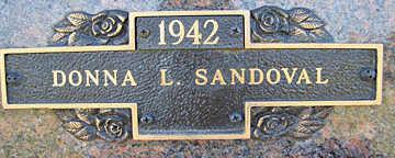 SANDOVAL, DONNA L - Mohave County, Arizona | DONNA L SANDOVAL - Arizona Gravestone Photos
