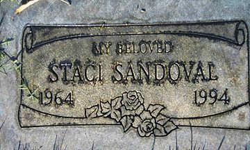 SANDOVAL, STACI - Mohave County, Arizona | STACI SANDOVAL - Arizona Gravestone Photos
