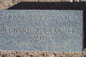 SMITH, EDWARD ALEXANDER - Mohave County, Arizona   EDWARD ALEXANDER SMITH - Arizona Gravestone Photos