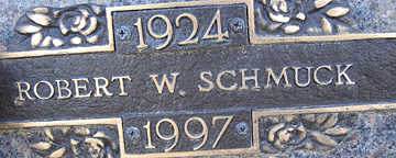 SCHMUCK, ROBERT W - Mohave County, Arizona | ROBERT W SCHMUCK - Arizona Gravestone Photos