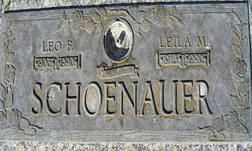 SCHOENAUER, LEILA M - Mohave County, Arizona | LEILA M SCHOENAUER - Arizona Gravestone Photos