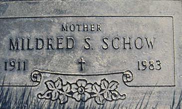 SCHOW, MILDRED S - Mohave County, Arizona | MILDRED S SCHOW - Arizona Gravestone Photos