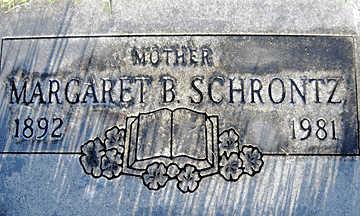 SCHRONTZ, MARGARET B - Mohave County, Arizona | MARGARET B SCHRONTZ - Arizona Gravestone Photos