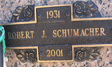 SCHUMACHER, ROBERT J - Mohave County, Arizona   ROBERT J SCHUMACHER - Arizona Gravestone Photos