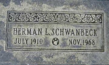 SCHWANBECK, HERMAN L - Mohave County, Arizona | HERMAN L SCHWANBECK - Arizona Gravestone Photos
