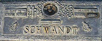 SCHWANDT, MARY I - Mohave County, Arizona | MARY I SCHWANDT - Arizona Gravestone Photos