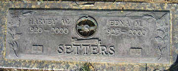 SETTERS, HARVEY W - Mohave County, Arizona | HARVEY W SETTERS - Arizona Gravestone Photos